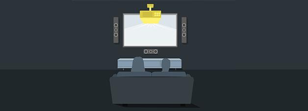environmental-condition-mount-projector