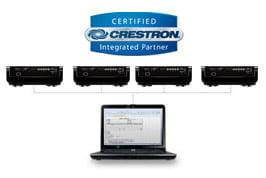 قابلیت Crestron RoomView پروژکتور