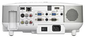 ورودی های پروژکتور nec np905