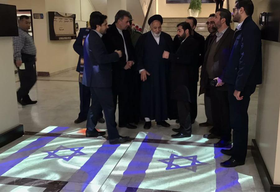 اجرای فرش هوشمند در شهرداری مشهد