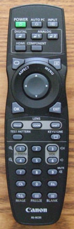 ریموت کنترل کانن WX6000