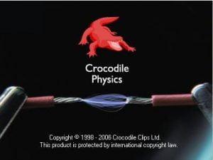 نرم افزار کروکودیل فیزیک-crocodile physics