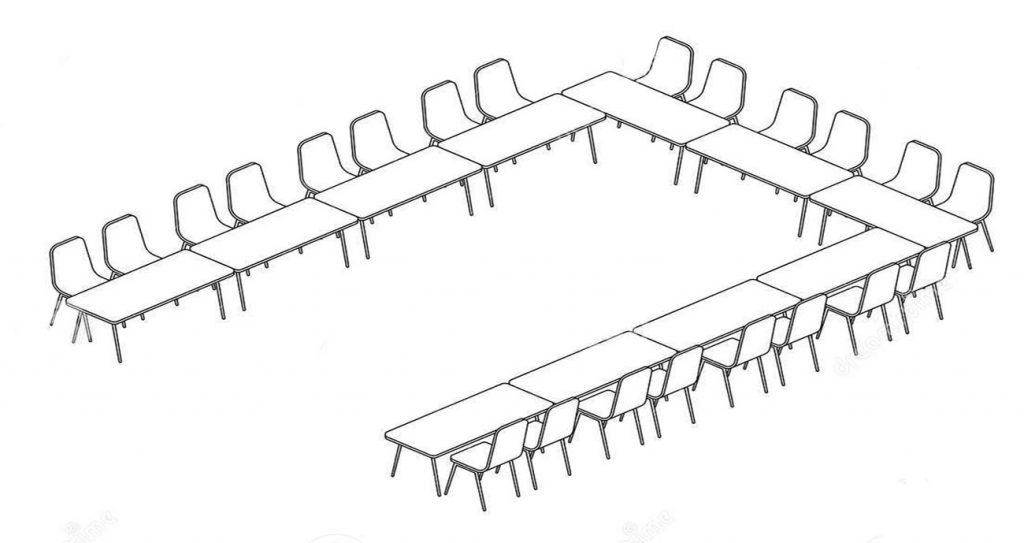 میز سالن کنفرانس