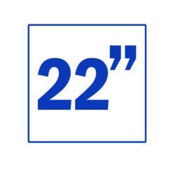 22 اینچ